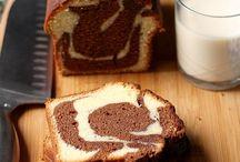 recette du gâteau marbre