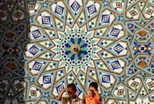 mosques / archway mosaics architecture