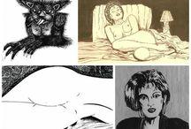 Ilustrações e arte digital de Carlos Holanda