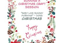 Christmas Craft Event / Now is the time to put some plans in place to run an amazing Christmas craft event for a small group of friends in your home, or a large group of women in a church hall.  Christmas is one of the best times for a get-together. With a little advance planning now, you can put on a wonderful event and take the opportunity to welcome people into your community.