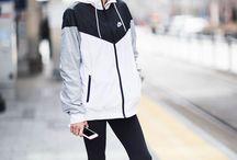Fitness windbreakers/jackets