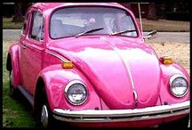 VeeDubs* / My very first car was a dark green 1968 Volkswagen Beetle. Her name was Aggie. She was the best car I ever had - right up until it ran into that Semi ... Right now I own a red 1970 convertible named Maggie, a white 1971 standard beetle, an orange 1972 Super Beetle, a 1970 convertible beetle that has been customized into a truck, an a 1929 Mercedes Gazelle kit car that was built on a 1974 bug chasis -- all are in various stages of restoration. Still looking for a good bus. / by Cindy Briedis