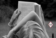 book girl with book