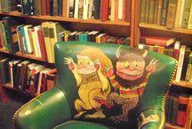 Books and bookshops / by John Merrall