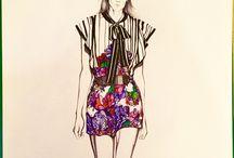 Selinadie / Fashion illustrations