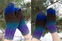 Knit winter