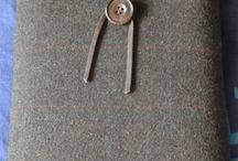 Carteiras / Acessórios em Tweed