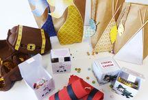 Gastgeschenke - Verpackungen für den Kindergeburtstag / Kleine Gastgeschenke erfreuen die Gäste nach dem Kindergeburtstag. Für die Mitgebsel gibt es viele schöne Ideen. Wir haben hier ein paar tolle Vorschläge gesammelt, wie man die Give-aways schön verpacken kann. Viele weitere schöne Ideen rund um Gastgeschenke zum Kindergeburtstag findest Du auf balloonas.com  #kindergeburtstag #motto #mottoparty #kinder #geburtstag #mitgebsel #give away #gastgeschenk #favor