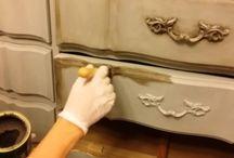calk painted furniture
