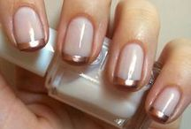 Wedding Nails / Wedding manicures to complement the perfect dress!