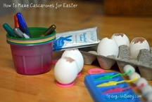 How to Make Cascarones for Easter/Cómo hacer cascarones para la Pascua / Step-by-step picture tutorial to make fun confetti-filled cascarones for Easter or anyway fun!