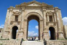 Jerash and Ajloun, Jordan / Photos taken by David Stanley during a visit to the ancient Roman city of Gerasa (Jerash) and Qa'lat ar-Rabad at Ajloun, Jordan.