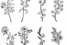 floral tatts