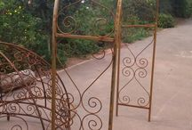 Rose Arches / wrought iron arches and gazebos