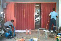 tukang service rolling door paling murah  jakarta utara 081381119799
