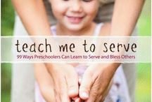 Service / Teaching children to serve teaches them the true path to happiness