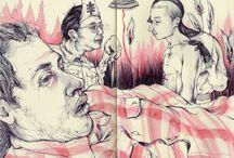 Sketchbooks / drawing