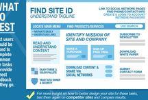 Webdesign / Inspirational web design information