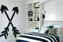 Teen Bedroom Inspiration / Paint colour ideas for teenage bedrooms