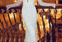 robe marié decolleté plongeant