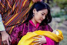 King & Queen of Bhutan