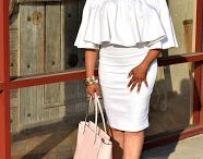 All white summer looks / Mix and Match all white summer looks