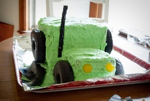 Sculpted Vehicle Cakes