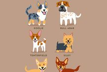 The Geographic Origins Of 200 Dog Breeds / LA-based artist Lili Chin did an amazing job drawing and grouping around 200 dog breeds by their geographic origins. From Asian to Nordic dogs and from Latin American to Welsh dogs, they're all listed in these cute posters.  This certainly is helpful for any dog lover or owner – if you have a dog of a certain breed, try to find it in these posters!  | www.petnook.in #petnook