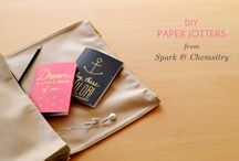 Journals, notebooks, etc