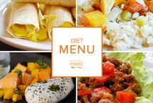 Diet Freezer Menu October 2015 / 'Tis the season for fruity mustard glazed ham, roasted squash atop creamy risotto and slow cooked white pumpkin chili. Our Diet October Menu is brimming with dishes highlighting the tantalizing tastes of autumn in all their seasonal glory. / by Once A Month Meals