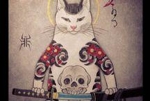 gatos de Horitomo