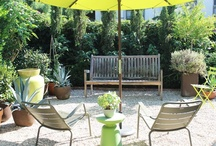 Collecting ideas for our outdoor spaces / and enjoying the yard / by Amanda Forbes Mestdagh
