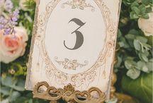 mesas matrimonios