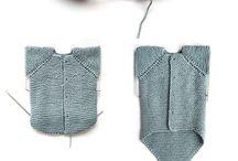 fofos em tricot.