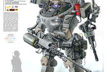 Mecha/Robots