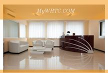 MyWHTC clinic / Various views of the MyWHTC medical facility in Brussels, Belgium.  Here is where Dr. Patrick Mwamba performs stellar hair transplant procedures on patients of all backgrounds.