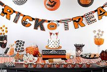 Modern Sweets & Treats Ideas for Halloween / Chic and eek! Set a sweet scene that's a total scream featuring polka-dots, chevrons, stripes & so much  more!  Great tips from the experts at Wilton® to create adorable treats to make you the ultimate ghostess! / by Party City