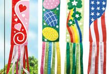 CRAFT-Flags garden