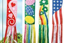 CRAFT-Flags garden