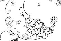 Care Bear   Coloring Pages / Kleurplaten / by care bears