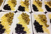 Salad decorating idea