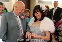 St Helens Register Office - Doreen & Mike - 28th October 2015 / The Wedding of Doreen Longley & Mike Spencer at St Helens Register Office & The Millstone, Newton-le-Willows, 28th October 2015 - Sam Rigby Photography (www.samrigbyphotography.co.uk) #samrigbyphotography #femaleweddingphotographer #northwestweddingphotographer #weddingphotography #weddingphotographer #wedding #bride #groom #sthelensregisteroffice #themillstone #bridal bouquet #freshflowers #vows