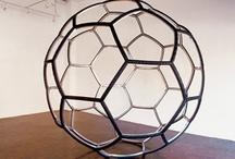 Fullereno en escultura