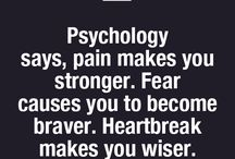 Psychology for soul and mind.  ✔