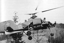 El helicóptero en la Segunda Guerra Mundial (01Set 1939 - 02Set 1945)