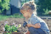 дети и растения