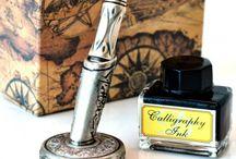 Instrumente de scris / stilouri, pixuri, rollere, seturi de scris retro