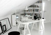 decorate :: attic/loft shelving