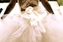 Bridesmaids and flower girl dresses