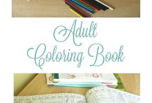 Coloring for Adults / Adult Coloring is a relaxing hobby. Coloring books, coloring pages, and best coloring supplies.